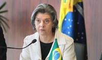 Ministra Cármen Lúcia divulga vencimento do mês de junho